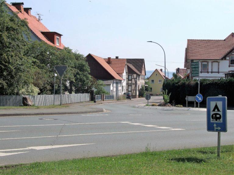 Blick in die Hemfurther Straße. (Foto: Uli Klein)