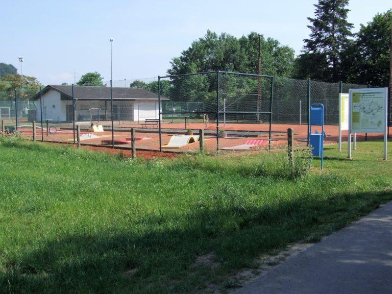 Der Sportpark am Weg zum Affolderner See. (Foto: Uli Klein)