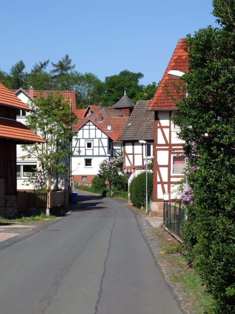 Die Altwildunger Straße. (Foto: Uli Klein)