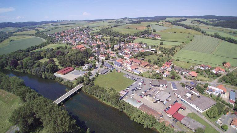Bergheim von oben. (Foto: 3H-Media-Works)