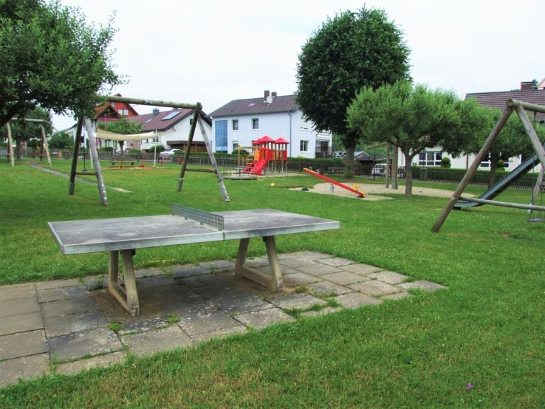 Kinderspielplatz an der Nelkenstraße/Ecke Rosenstraße. (Foto: Uli Klein)