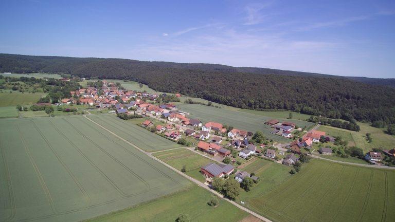 Blick auf das Dorf. (Foto: 3H-Media-Works)