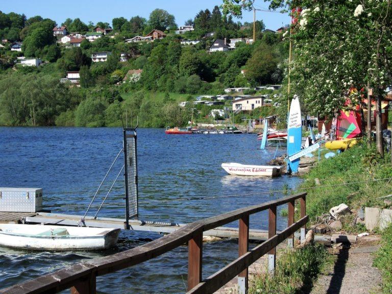 Uferbereich in der Bringhäuser Bucht. (Foto: Uli Klein)
