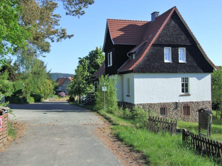 Weg aus dem Nationalpark in das Dorf. (Foto: Uli Klein)