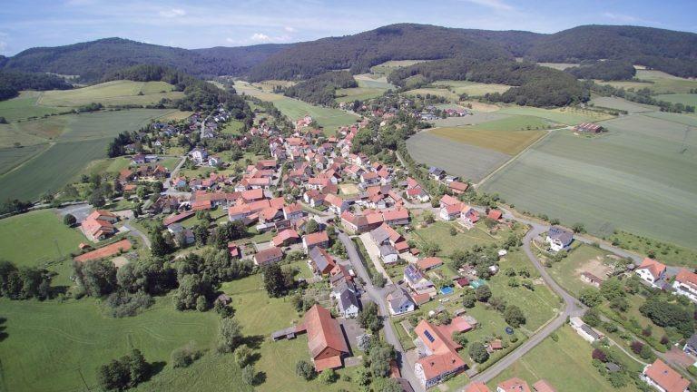 Luftaufnahme von Gellershausen. (Foto: 3H-Media-Works)