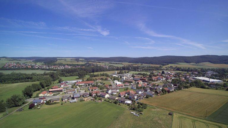 Das Wohn- und Gewerbegebiet. (Foto: 3M-media-Works)