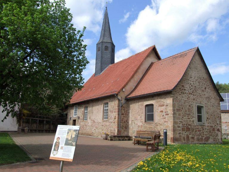 Die evangelische Kirche. (Foto: Uli Klein)
