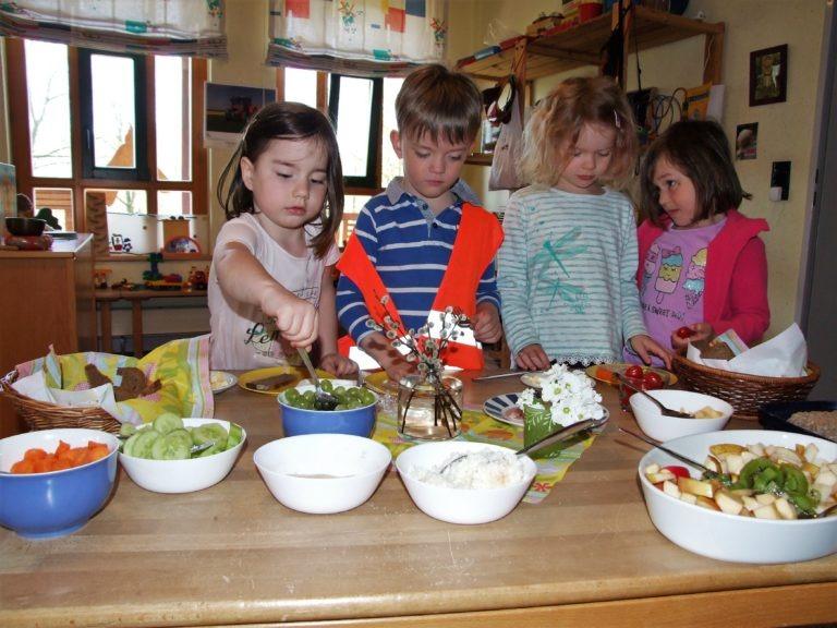 Gesunde Ernährung steht regelmäßig auf dem Programm. (Foto: Uli Klein)