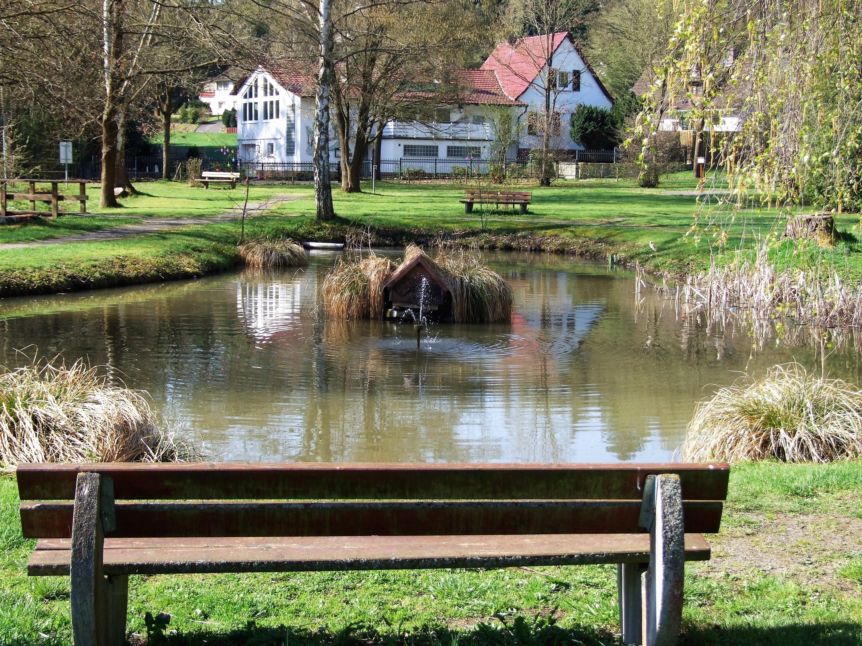 Teichanlage in der Freizeitanlage Spicke. (Foto: Uli Klein)