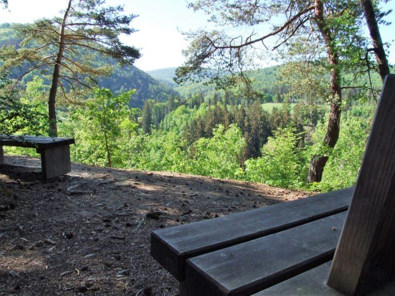 Herrlicher Blick in den Nationalpark vom Christians Eck. (Foto: Uli Klein)