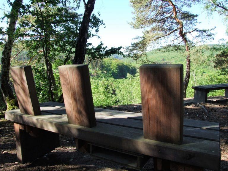 Eine Sitzgelegenheit am Christians-Eck. (Foto: Uli Klein)