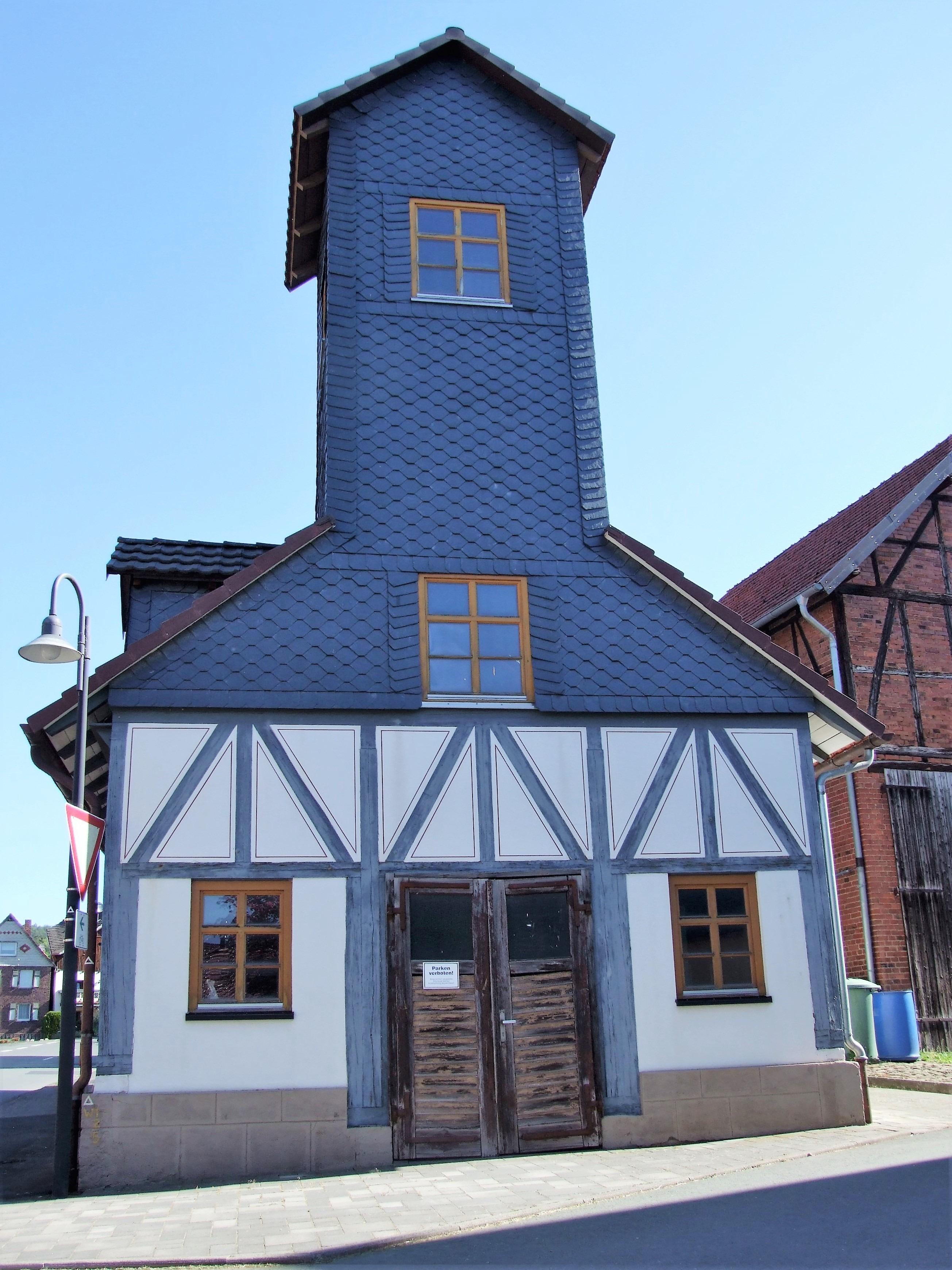 Das ehemalige Feuerwehrhaus. (Foto: Uli Klein)