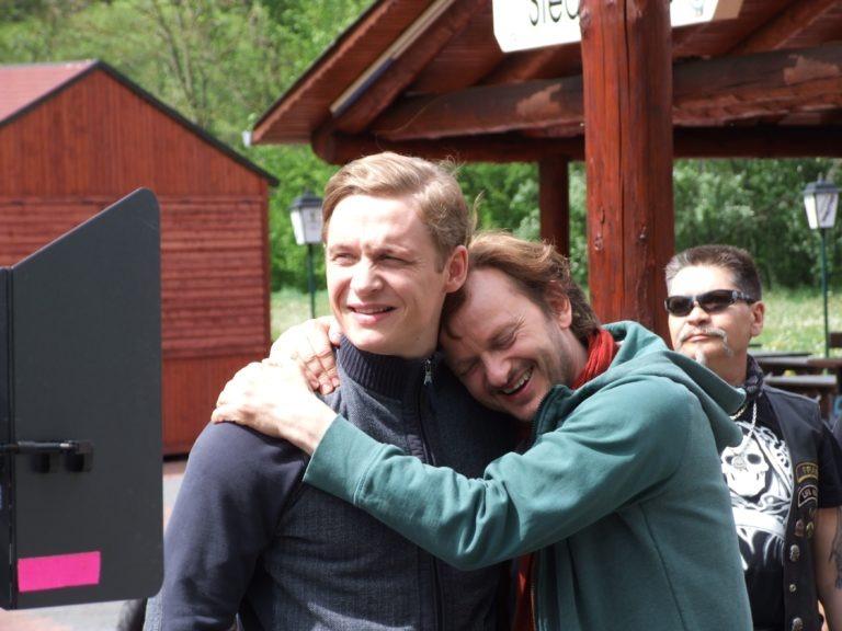 """Großes Kino: Rund um die Sperrmauer entstanden viele Filmszenen des Kinohits """"Schlussmacher"""" von und mit Matthias Schweighöfer und Milan Peschel. (Foto: Uli Klein)"""