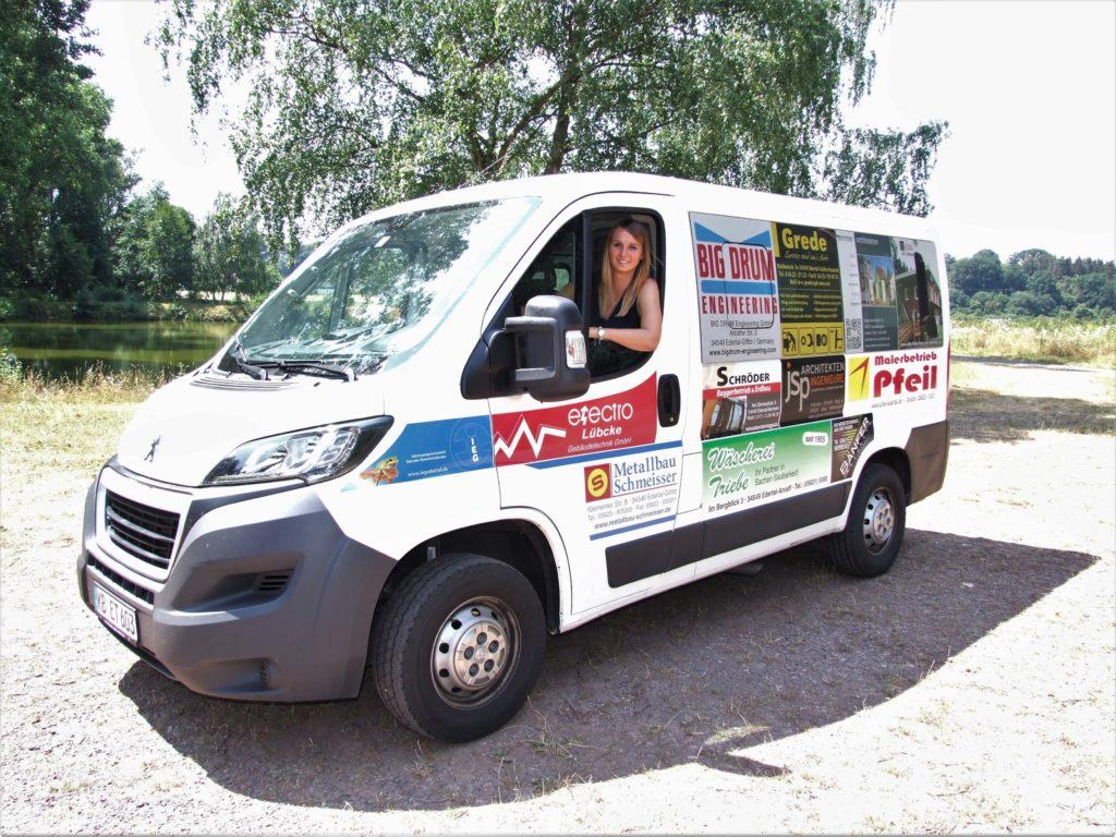 Unser Vereinsbus - Foto: Uli Klein