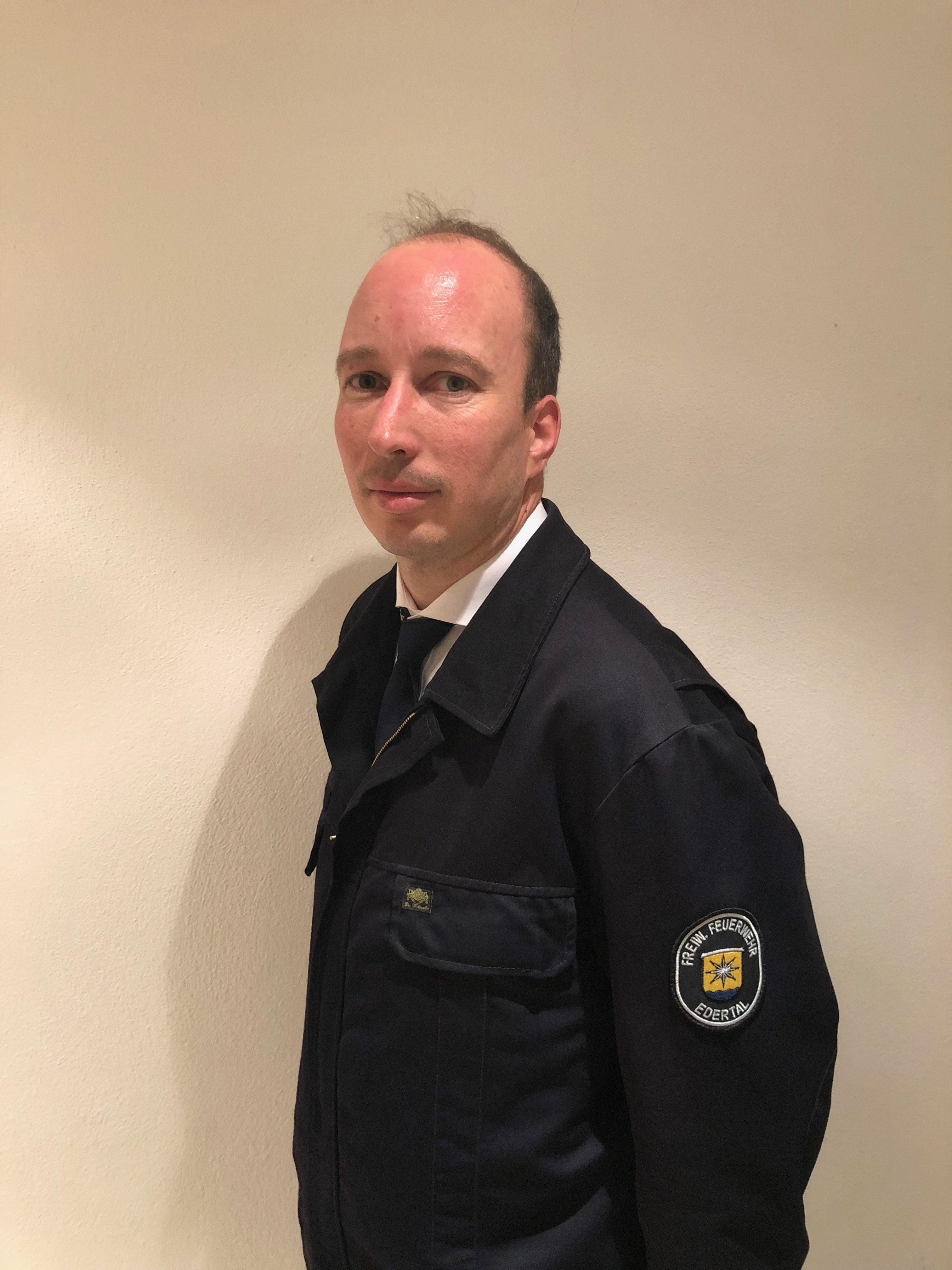 Gemeindebrandinspektor Dirk Rübsam