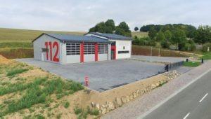 Das neue Feuerwehrhaus in Hemfurth-Edersee (Foto: Dirk Rübsam)